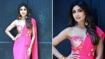 Shilpa Shetty Pink साड़ी में दिखीं बेहद खूबसूरत | Boldsky