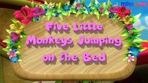 Five Little Monkeys Jumping on the Bed Nursery Rhymes Song for Kids | 3D Animation English Nursery Rhymes Songs for Children by HD Nursery Rhymes