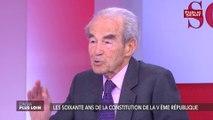 Selon Robert Badinter,  l'affaire Benalla va finir par faire « pschitt »