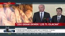 İstanbul Belediye Başkanı Mevlüt Uysal'dan flaş ekmek açıklaması