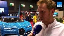 Mondial de l'auto : la Bugatti Chiron fabriquée par Lego
