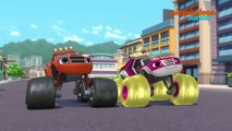 Blaze et les Monster Machines | Bulle de Blaze | NICKELODEON JUNIOR
