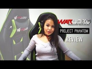 Warlord Phantom Chair Review  | Lizara