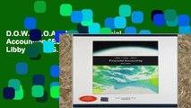 D.O.W.N.L.O.A.D [P.D.F] Financial Accounting 6ED by Patricia Libby,Robert Libby Daniel G. Short