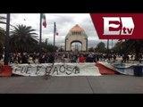 ÚLTIMA HORA: CNTE y anarquistas se instalan en la Plaza de la Revolución/Todo México