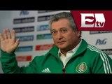 Víctor Manuel Vucetich ve a la Selección Mexicana como un reto personal / Adrenalina