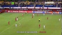 الشوط الاول مباراة تونس و المغرب 2-1 كاس افريقيا 2012
