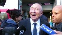Gérard Collomb revient à Lyon