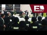 Rinden homenaje póstumo a policías accidentados en Guerrero / Excélsior informa, con Idaly Ferrá
