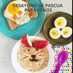 Desayunos de Pascua para niños