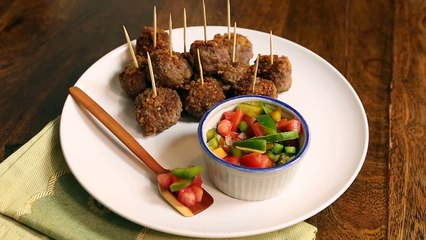 Chicharrón Meatballs