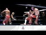 Marco Corleone, Shocker y Rush vs. Último Guerrero, Euforia y Niebla Roja 16/03/13