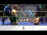 Súper Porky, Diamante Azul y Máximo vs. Mr. Niebla, Negro Casas y Felino 13/04/13