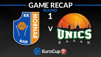 7Days EuroCup Highlights Regular Season, Round 1: Mornar Bar 74-97 UNICS
