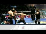 Blue Panther, Stuka Jr. y Diamante vs. Terrible, Rey Bucanero y Tiger 13/04/13