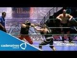Máscara Dorada, Rey Cometa y Stuka Jr. vs Rey Bucanero, Namajague y Tiger 13/07/13