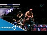 Rey Cometa, Stuka Jr. y Fuego vs. Terrible, Rey Bucanero y Tiger 06/07/13