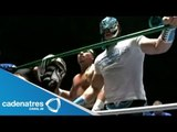 La Sombra, Thunder y Super Porky vs Volador Jr., Negro Casas y Rey Escorpión 24/08/13