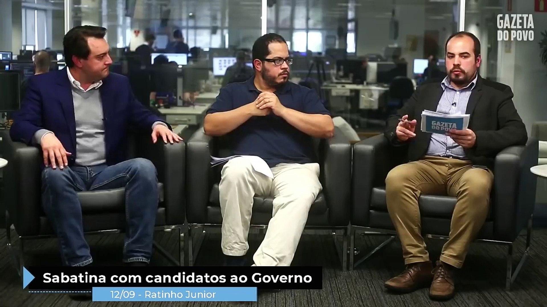 Ratinho Jr. promete incentivar a indústria de transformação de alimentos e cortar burocracia e impos