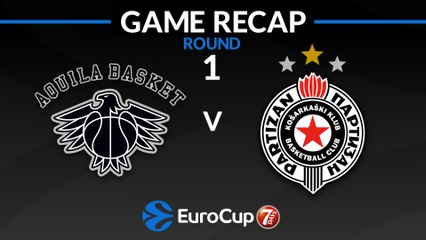 7Days EuroCup Highlights Regular Season, Round 1: Trento 82-73 Partizan