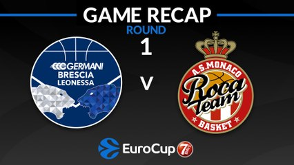 7Days EuroCup Highlights Regular Season, Round 1: Brescia 68-80 Monaco
