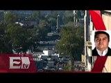 Familiares de normalistas de Ayotzinapa marchan en la Ciudad de México / Excélsior informa