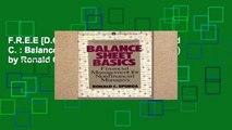 F.R.E.E [D.O.W.N.L.O.A.D] Spurga Ronald C. : Balance Sheet Basics (Mentor Series) by Ronald C Spurga