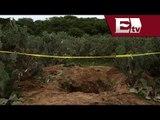 Cuerpos encontrados en fosas clandestinas no son de personas reportadas como desaparecidas