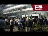 Campesinos de la UNTA bloquean edificio de SAGARPA / Jazmín Jalil