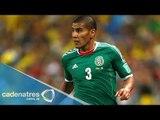 Carlos Salcido dice adiós a la Selección Mexicana de fútbol