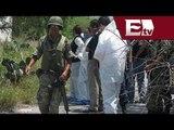 Sin éxito en la localización de los agentes de la policía federal en las fosas clandestinas