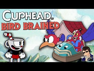 BIRD BRAINED!!! - Cuphead Expert Mode Gameplay - Funny Highlights