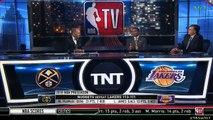 Isiah Thomas & Kevin McHale on LeBron James & Los Angeles Lakers vs Denver Nuggets | NBA GameTime