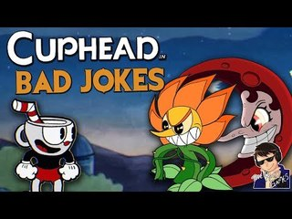 BAD JOKES!!! - Cuphead Expert Mode Gameplay - Funny Highlights