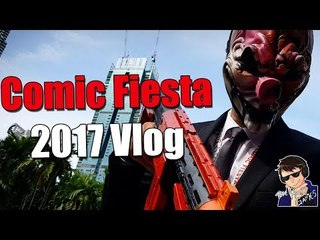 OLD HOXTON COSPLAY!!! - Comic Fiesta 2017 Vlog
