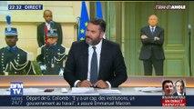 Pour 57% des Français, le départ de Gérard Collomb est lié à un désaccord avec Emmanuel Macron