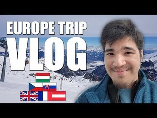 EXPERIENCING SNOW FOR THE FIRST TIME!!! - Europe Trip Vlog 2018