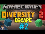 Minecraft Diversity 2 Adventure Map | Escape #2 [Walkthrough / Playthrough]