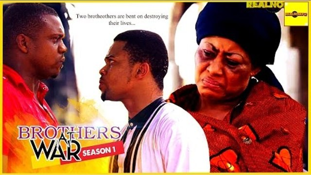 Nigerian Nollywood Moviesn - Brothers At War 1