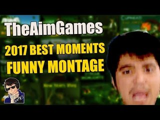 TheAimGames Best Moments of 2017 - Funny Montage (Cuphead, GTA 5, Dead By Daylight & more!)