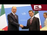 Enrique Peña Nieto ofrece comida en honor a Enrico Letta, Primer Ministro de Italia / Titulares