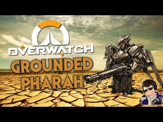 GROUNDED PHARAH!!! - Overwatch Shenanigans - Funny Moments