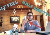 Vlogger Dad Solves 'Glass Half Full' Mystery