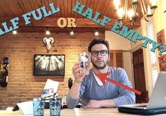 Vlogger Dad Solves 'Glass Half Full' Mystery