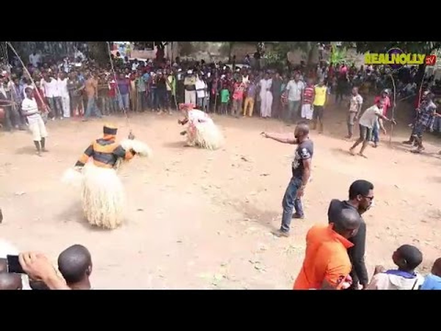 Nigerian Nollywood Movies -  Masquerade Competition 1