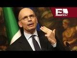 Enrico Letta dimitió como primer ministro de Italia; Renzi se perfila para asumir/ Paola Barquet