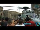 Las Fuerzas Armadas presumen su equipamiento en el Zócalo capitalino. Cadenatres Noticias