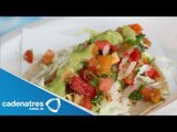 Receta de tacos de ceviche. Receta de tacos / Comida mexicana / Cocinando con Cats