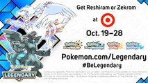 Pokemon Sun and Moon - Reshiram And Zekrom Join The Fray In October Trailer