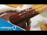 Receta para preparar churros con chocolate. Receta de churros / Antojitos mexicanos
